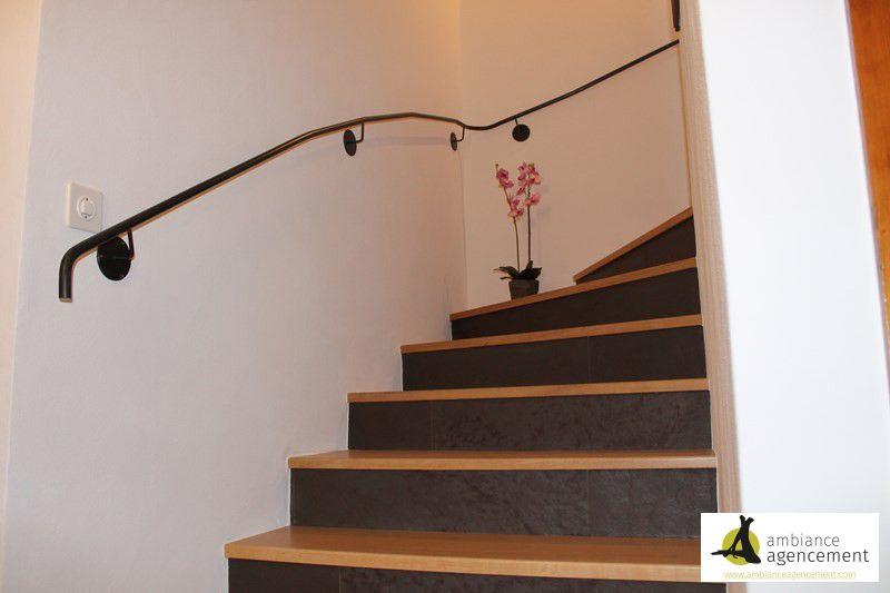 Escalier bois et ardoise for Agencement cuisine yverdon